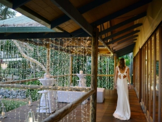 Hi Dry Bars + Waterfall Fairy Light Curtains