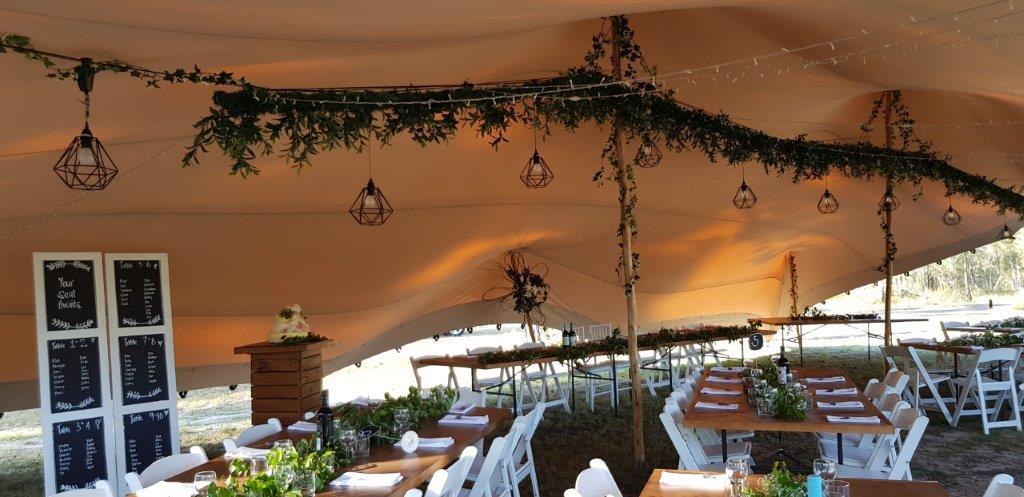 Nomandic Tent fairy light geo pendent greenery