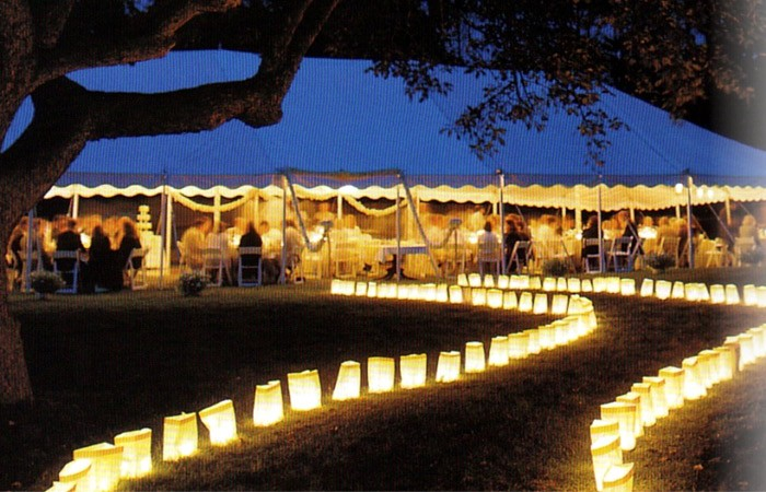 Marquee Lantern Walk Way