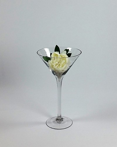 Glass Tall Martini Vases Special Occasions