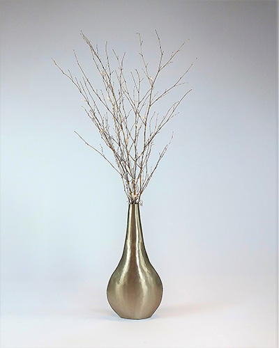 fairy light battery branches 1 2 metre silver steel