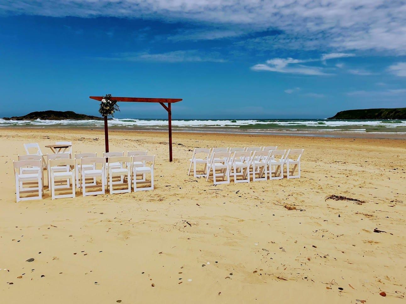Beach Ceremony Park Beach Coffs Harbour