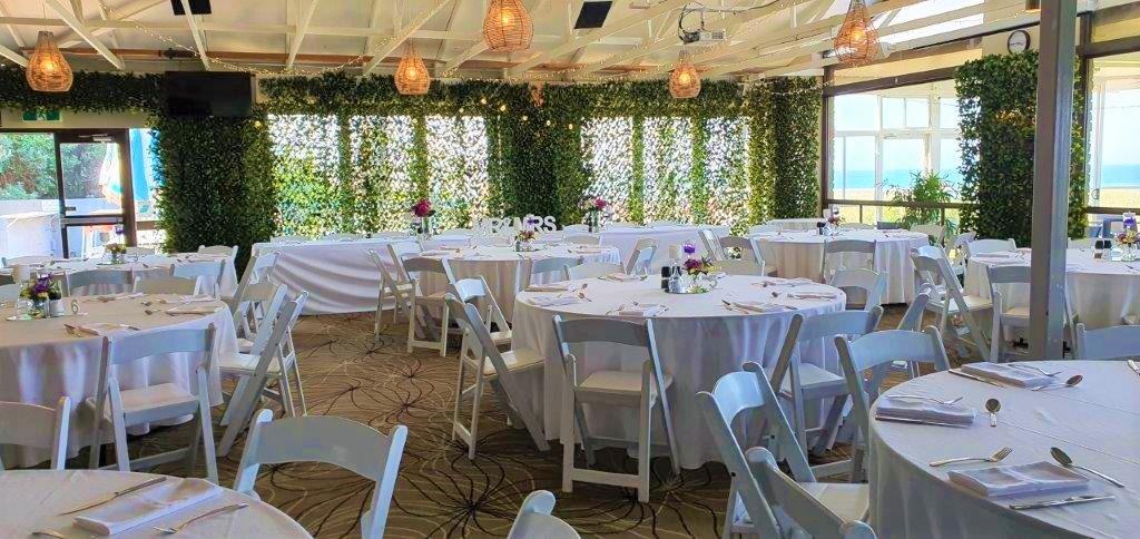 Backdrop 4 Forest Greenery Full, Malibu chairs