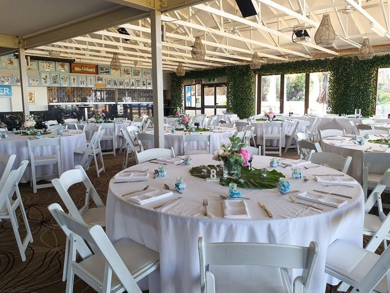 Backdrop 3 Forest Greenery Door Framing Malibu chairs